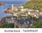 Oban From Mccaigs Tower  With...