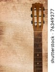 An Guitars Headstock Including...