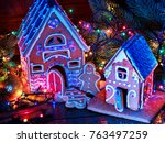 Ginger Bread Houses With...