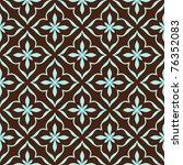 ornamental seamless pattern.... | Shutterstock .eps vector #76352083