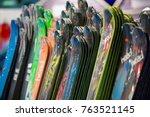 helsinki  finland   november 3  ... | Shutterstock . vector #763521145