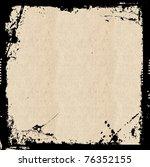 grunge frame background   Shutterstock . vector #76352155