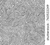 fingerprint seamless background ... | Shutterstock .eps vector #763522249