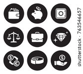 money  finance  payments icons... | Shutterstock .eps vector #763546657