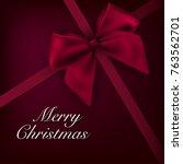 christmas vector background... | Shutterstock .eps vector #763562701