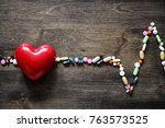 the concept of medical care for ...   Shutterstock . vector #763573525