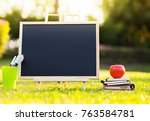 back to school concept  small... | Shutterstock . vector #763584781