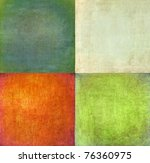 earthy squares background and... | Shutterstock . vector #76360975