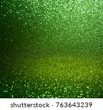 green glitter lights background.... | Shutterstock . vector #763643239