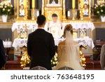 Priest Celebrate Wedding Mass...