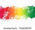 abstract watercolors... | Shutterstock . vector #763658959