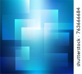 abstract soft light rectangle... | Shutterstock .eps vector #763666684