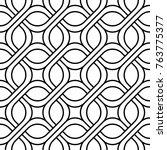vector seamless texture. modern ... | Shutterstock .eps vector #763775377