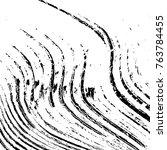distress diagonal striped lines ... | Shutterstock .eps vector #763784455