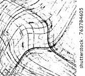 distress overlay pattern eight... | Shutterstock .eps vector #763784605