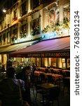 strasbourg  france   nov 21 ... | Shutterstock . vector #763801234