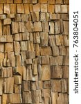 texture of the wood is... | Shutterstock . vector #763804051