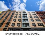 Modern Apartment Buildings On...
