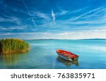 Lake Balaton On A Sunny Day