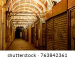 old market in venice  late at... | Shutterstock . vector #763842361