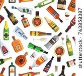 illustrations for textile...   Shutterstock .eps vector #763858387