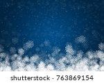 Christmas Frame Of White...