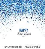 merry christmas  greeting... | Shutterstock .eps vector #763884469