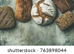 Various Bread Selection Flat...