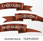 chocolate shop  cocoa ... | Shutterstock .eps vector #763910029