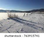 Deep Drifted Snow And Hoar...