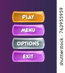 game interface elements in...