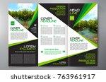 business brochure. flyer design.... | Shutterstock .eps vector #763961917