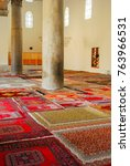 Small photo of Izmir, Turkey - September 22, 2007: Interior of the Isa Bey Mosque, one of the oldest and most impressive works of architectural art remaining from the Anatolian beyliks in Selcuk, Izmir, Turkey.