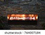 Backyard Fireplace In The City