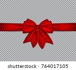 decorative realistic double ... | Shutterstock .eps vector #764017105