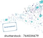 abstract background for... | Shutterstock .eps vector #764034679