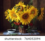 Beautiful Bouquet Of Sunflower...
