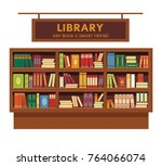 Library Promotional Poster With ...