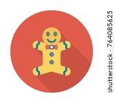doll circle flat | Shutterstock .eps vector #764085625