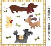 Hound Dogs Illustration  ...