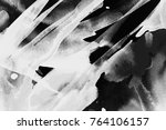 black and white abstract... | Shutterstock . vector #764106157