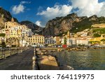 Amalfi  A Small Town And Comun...