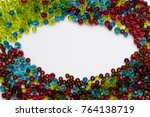 scattering of different colors... | Shutterstock . vector #764138719