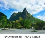 Small photo of The beautiful Clift in Thailand