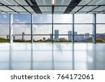 panoramic skyline and buildings ... | Shutterstock . vector #764172061