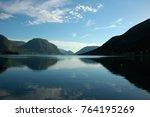fjord landscape. norway | Shutterstock . vector #764195269
