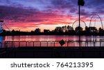 the international fireworks of... | Shutterstock . vector #764213395