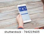 berlin  germany   november 26 ...   Shutterstock . vector #764219605