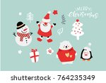 Vector Cute Christmas Graphics...