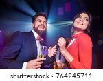 Cheerful Couple With Alcohol...
